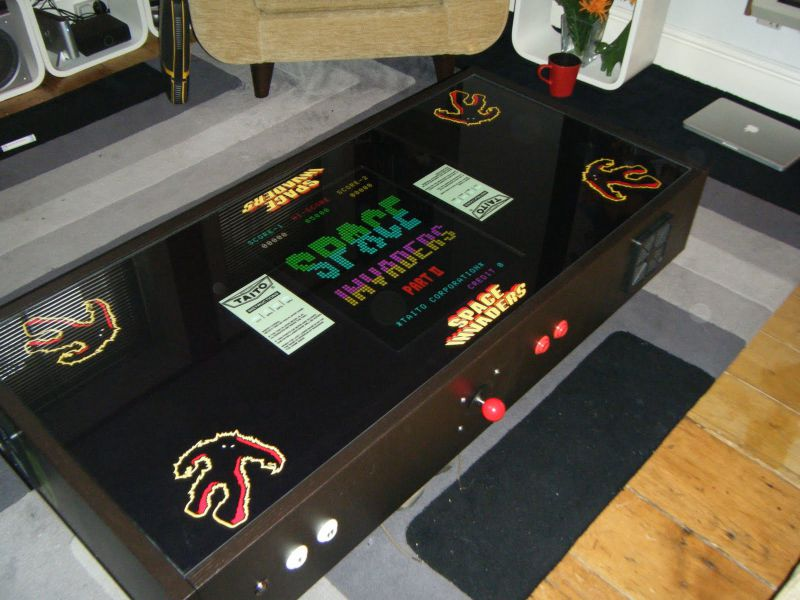 Mame table jonno 39 s machines gallery the mpu mecca for Ikea table d arcade