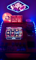 Elvis sitdown machine fully restored