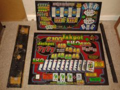 fruit machine glass