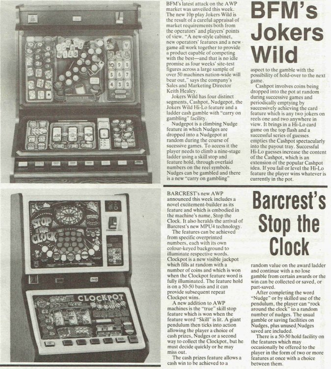 Jokers Wild BF Stop the Clock Barcrest  May 198510062017.jpg
