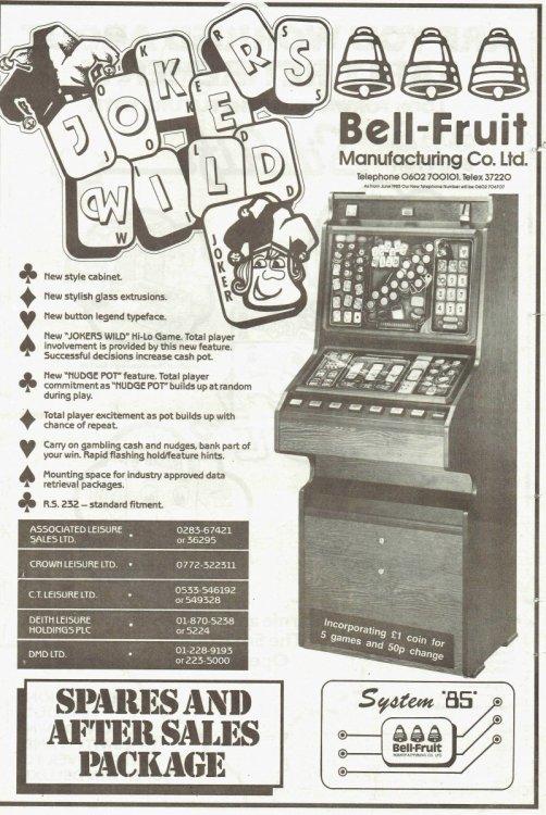 Jokers wild sys 85 Bell Fruit May 1985.jpg