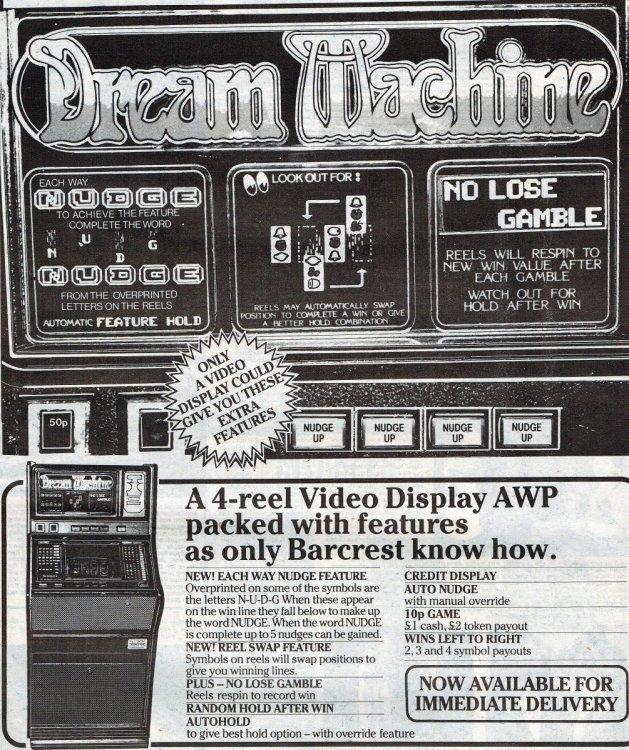 Dream machine Barcrest  March 198218052017.jpg