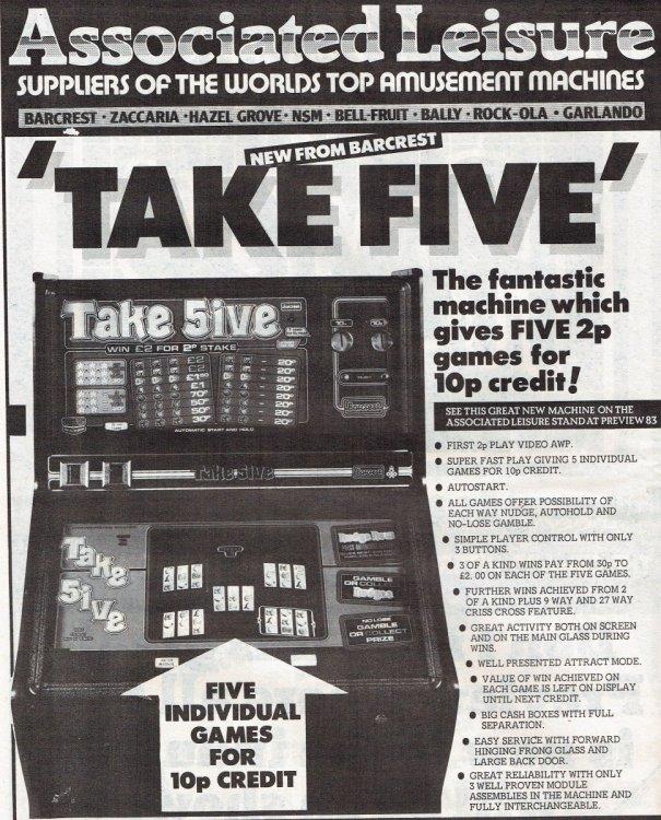 Take Five Barcrest October 198218052017.jpg
