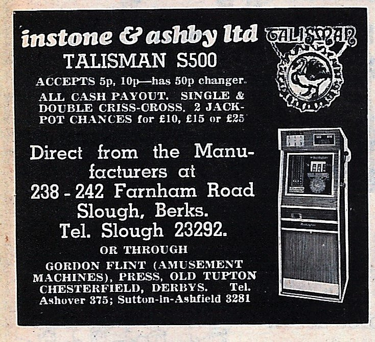 Instone & Ashby ltd 1975 Talisman.jpg